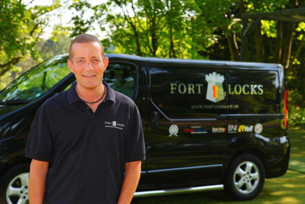 Kevin, Fort Lock's locksmith in Borehamwood